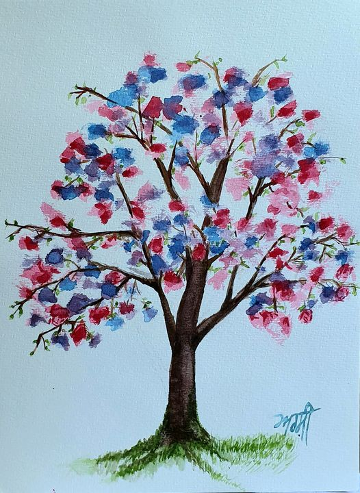 Tree of colours - AD SINGH
