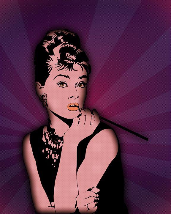 Audrey Hepburn - NocturnalPanda