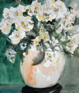 Pretty White Floral