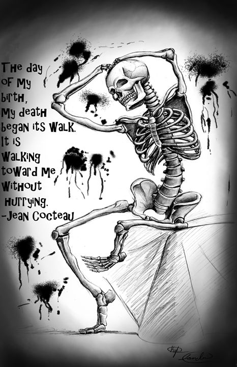 Skeleton Death - Kreative Kicker Studio