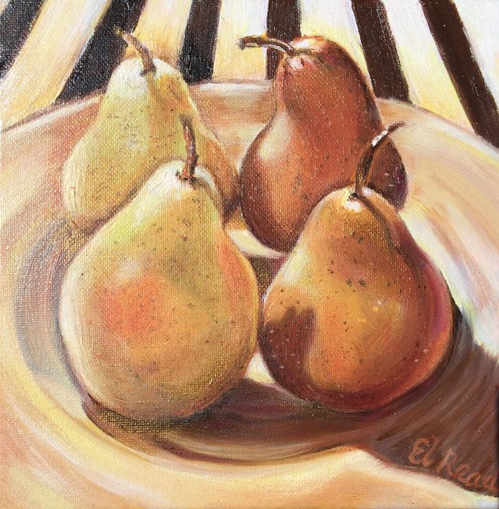 Pears in the Morning Sun - Ellery Gallery
