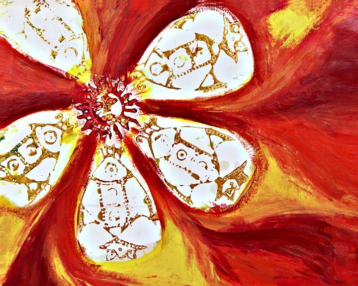 Burst of Fire - Provocative Flower