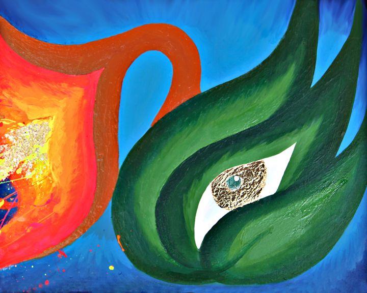 Flower Swan - Provocative Flower