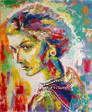 Coco Chanel - Original Painting