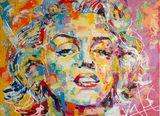 Marilyn Monroe - Original Painting