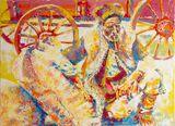 Pipe Smoker - Original Painting