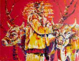 At the furrow - Original Painting