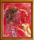 Woman in Red - Original Painting