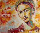 Frida Kahlo - Original Painting