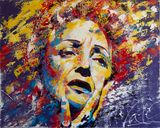 Edith Piaf - Original Painting