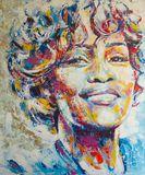 Whitney Houston - Original Painting