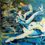 Maya Plisetskaya - Original Painting