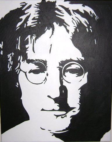John Lennon - Paintings