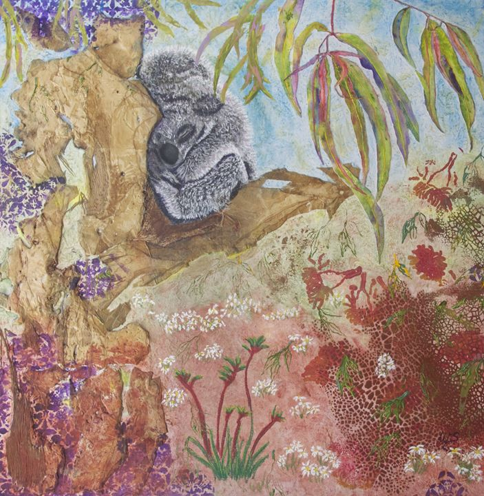 Koala Dreaming - Wendy's Art