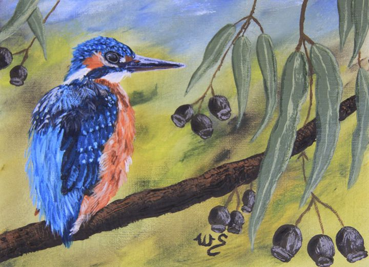 Pretty In Blue - Wendy's Art