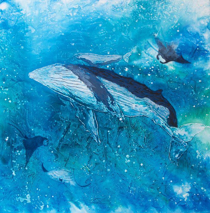 In Harmony, Under the Sea - Wendy's Art