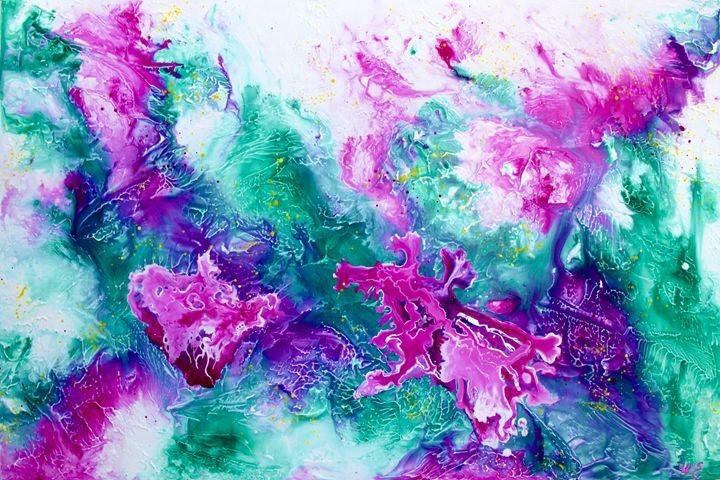 Summer Blooms - Wendy's Art