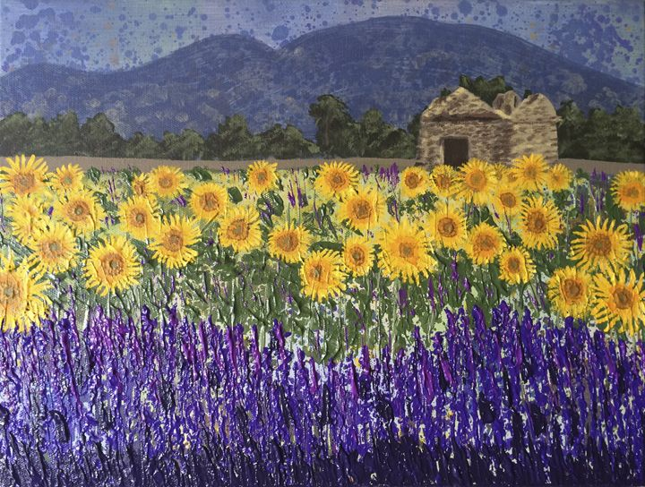 Fields of Provence - Wendy's Art