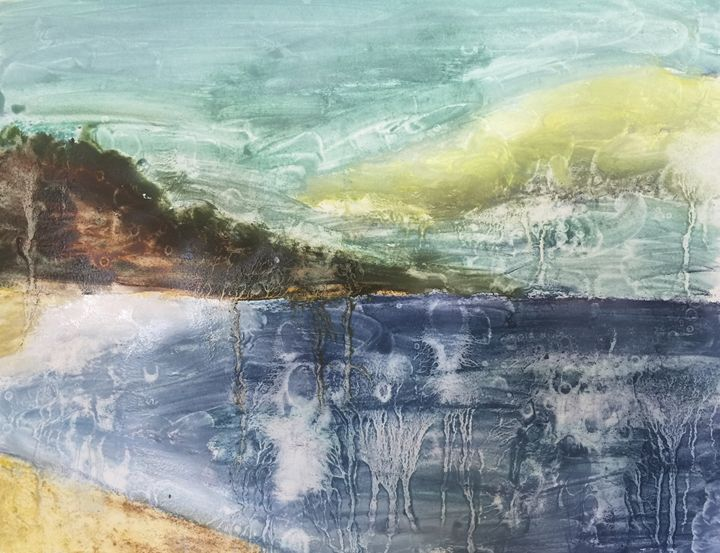 Abstract Seascape - Wendy's Art