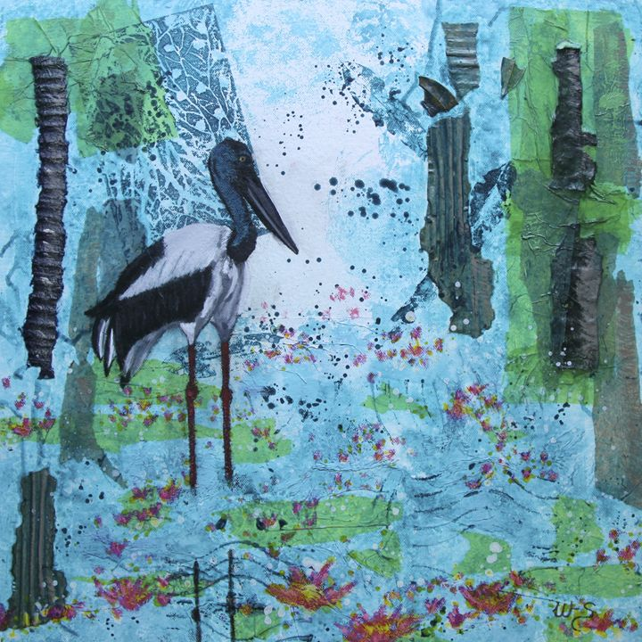 Jabiru Wetlands - Wendy's Art