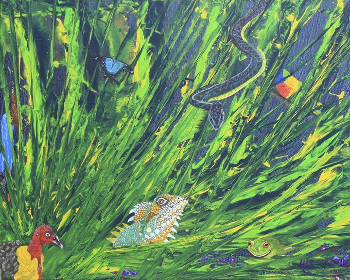 Rainforest Hues - Wendy's Art