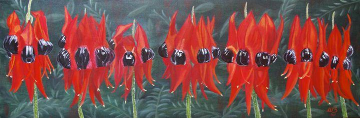 Ladies in Red - Wendy's Art