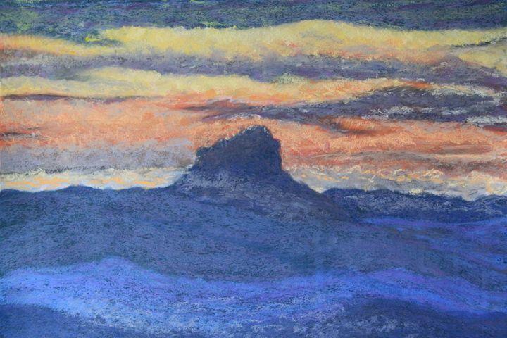 Sunset on Wilson's Peak - Wendy's Art