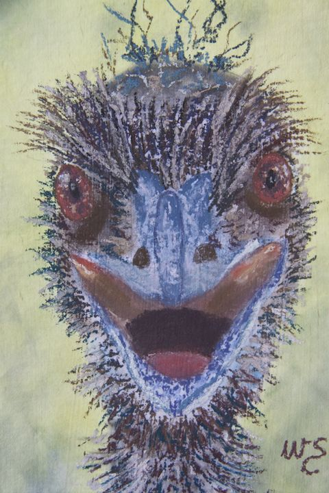 Old Man Emu - Wendy's Art
