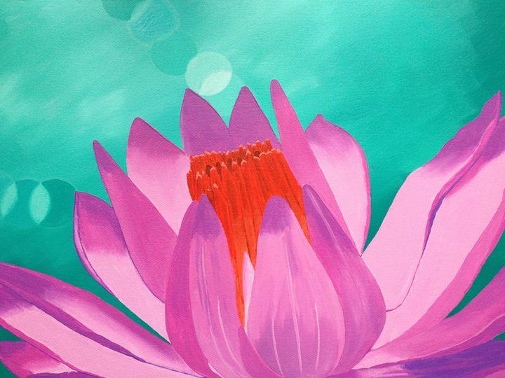 Pink Lotus - Wendy's Art