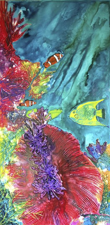 Coral Reef - Wendy's Art