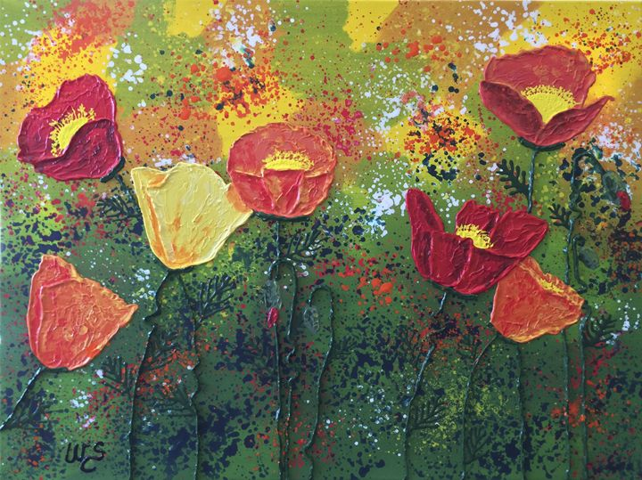 Poppy Tango - Wendy's Art