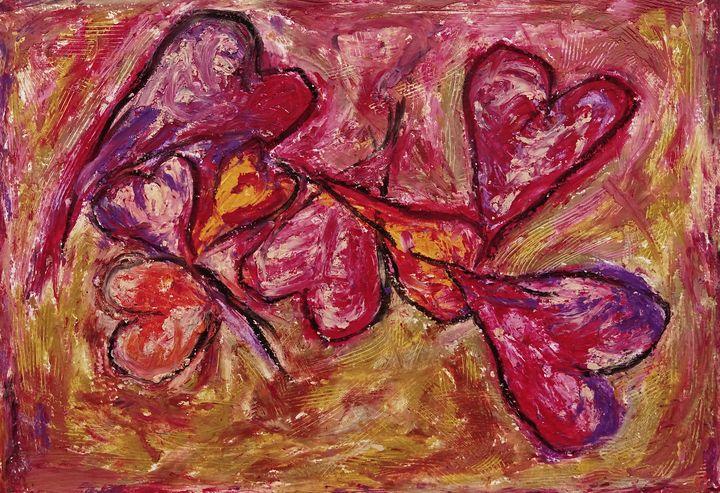 Coeurs et couleurs - byninon