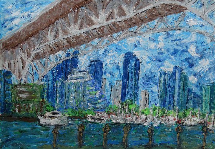Granville Bridge - byninon