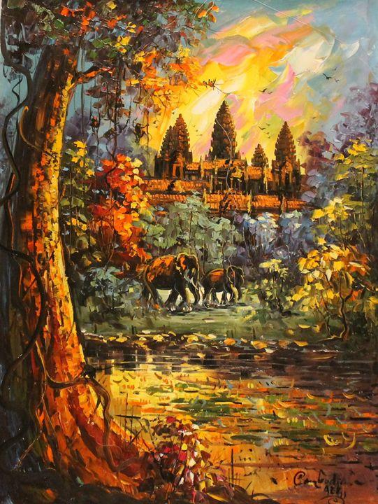 Jungle Ruins - World Art Galleria