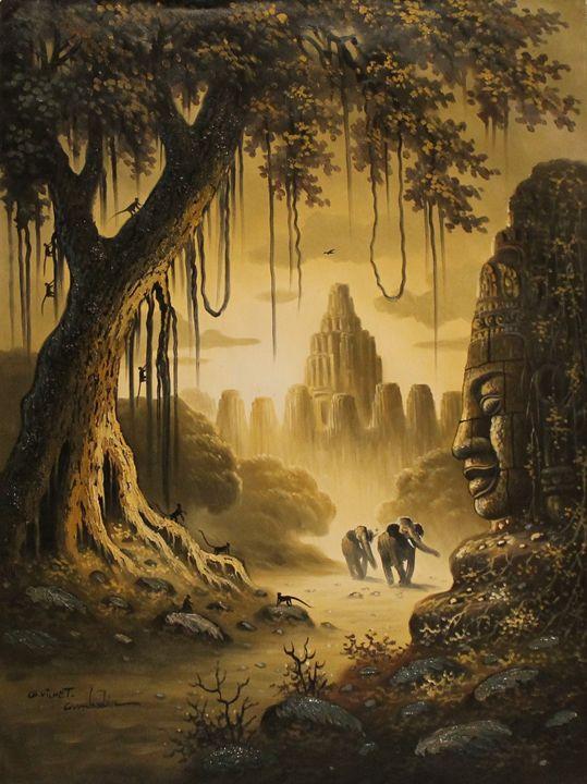 Cambodian Ruins - World Art Galleria