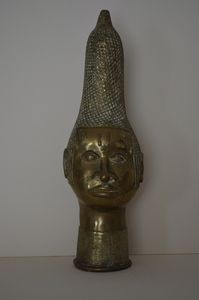 Old African Benin Sculpture