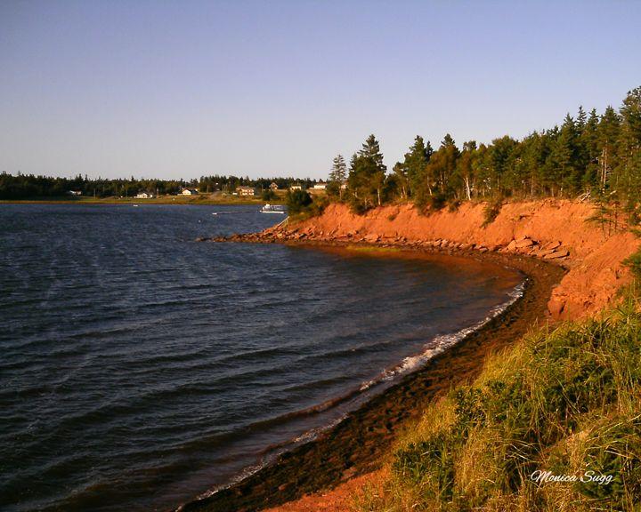 Shoreline at Swimming Rock - Monica Sugg