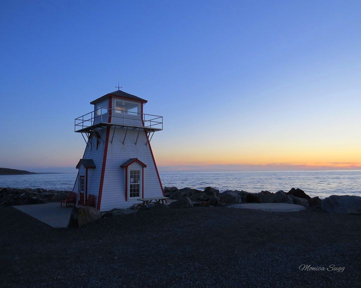 Arisaig Lighthouse - Monica Sugg