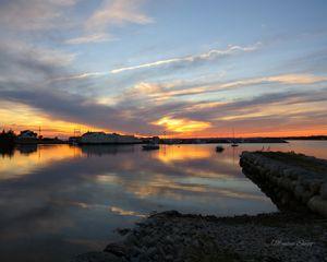 Peaceful Evening Sky