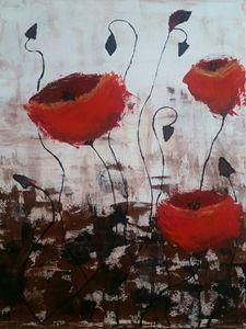 Poppy impresionistick danc
