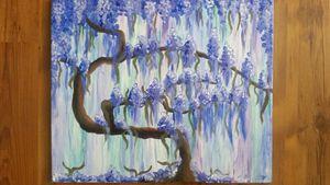 weisteria tree