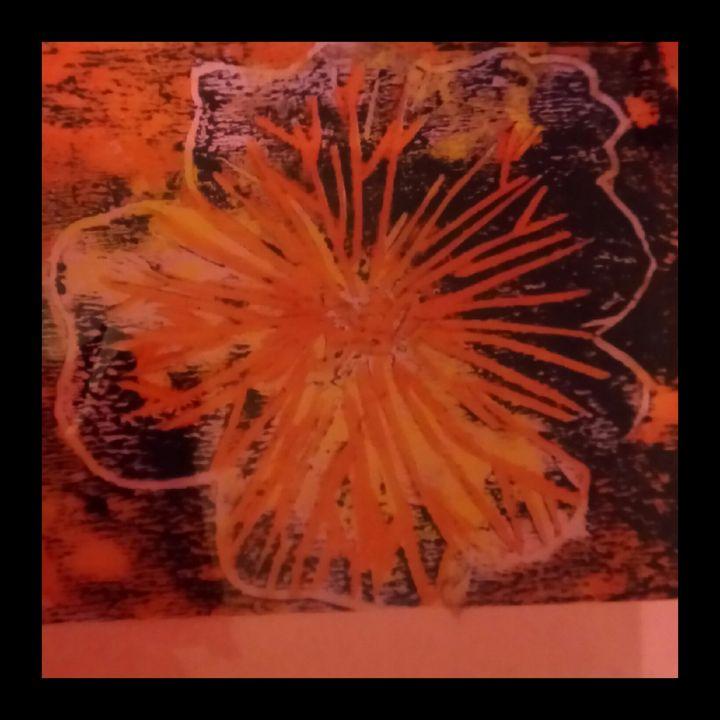 An abstract flower - Emma D