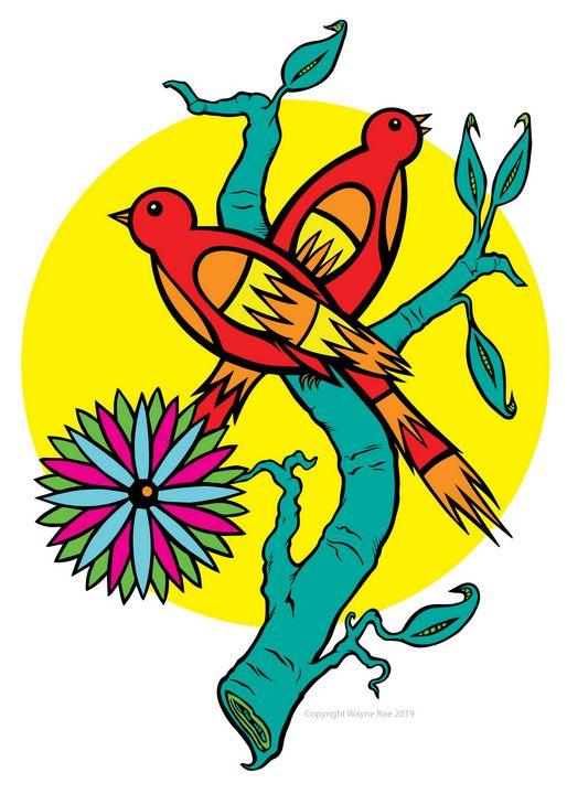 The Birds - Wayne Roe Designs