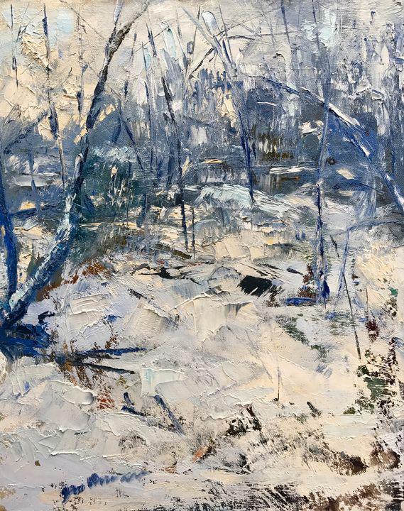 """Wintery Forest"" - NatikArt"