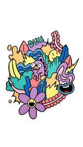 Pastel Color Doodle