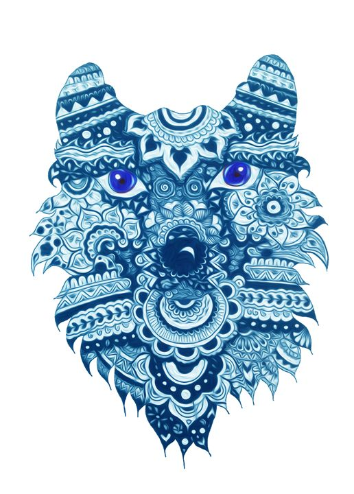 Wolf spirit animal - Madame Morgane