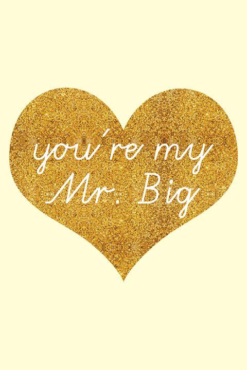 You're my Mr. Big - Madame Morgane