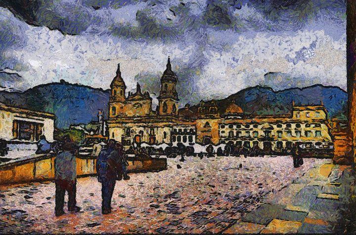 Plaza de Bolivar - Bogota - Trompiz Gallery