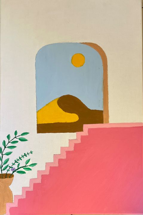 Window sill - A life on canvas