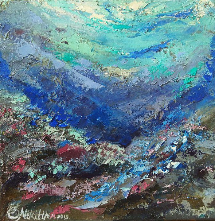 Abstract coral reef - Olga Nikitina